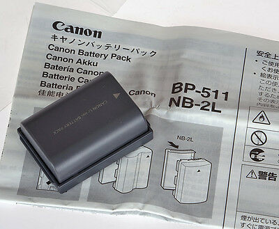 Genuine Canon NB-2L Battery Pack Lithium-Ion ACCU 570mAh NEW OLD STOCK