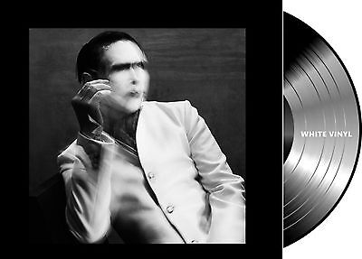 2Lp Vinilo Marilyn Manson The Pale Emperor Deluxe European Edition White Vinyl