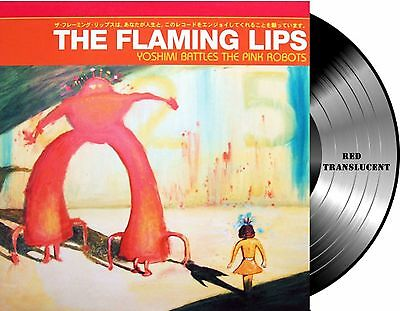Lp Vinilo The Flaming Lips - Yoshimi Battles The Pink Robots Album Red Gatefold