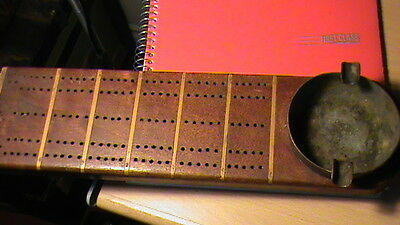 ww1 canada trench art antique  cribbage board game