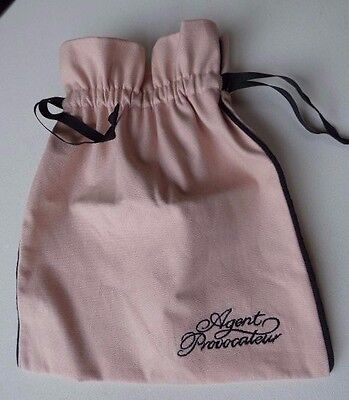 Agent Provocateur lingerie storage bag for bra & stockings travel pouch NEW
