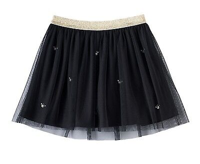 DISNEY'S Minnie Mouse Girls Simulated Pearl Glitter Tulle Skirt by Jumping Beans