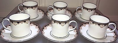 Wedgwood Medici Coffee / Espresso Cans / Cups & Saucers