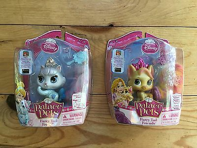 Palace Pets Set of 2 Brand New SEALED cinderella and rapunzel
