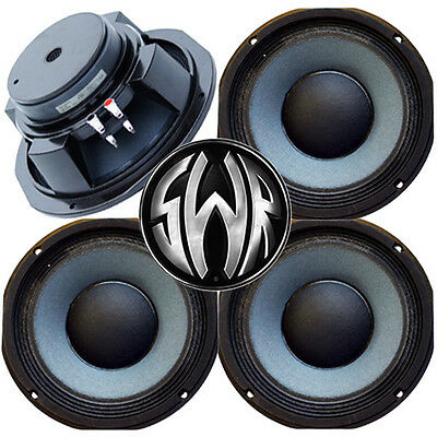 """4 pack 10"""" 8 Ohm Eminence SWR Goliath Woofer Midbass Bass Guitar Speaker USA"""