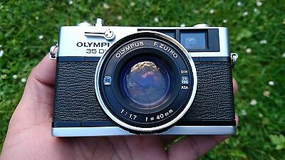 Olympus 35 DC 35mm film camera