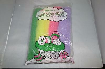 New Vintage Easter Unlimited Soft & fluffy Rainbow Grass
