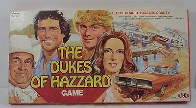 Dukes of Hazzard Game Ideal 1981 2-4 Players USA Complete