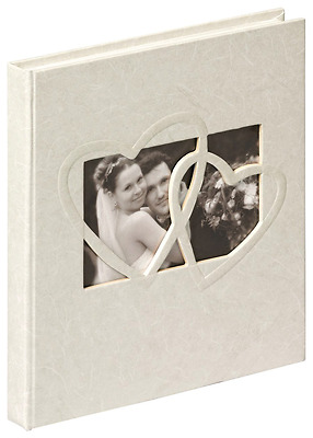 Walther - Livre D'or De Mariage Sweet Heart 23x25 cm 144 Pages Blanches - NEUF