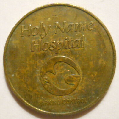 Holy Name Hospital (Teaneck, New Jersey) parking token - NJ3870B