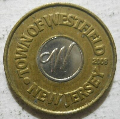 Town of Westfeld (New Jersey) parking token - NJ3950B