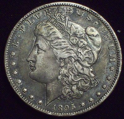 1895 O Morgan Dollar SILVER KEY DATE COIN Authentic XF Detailing US $1 Coin
