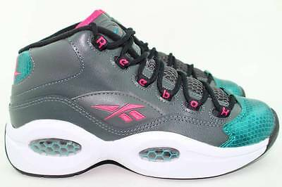 47a70b20bc0 Reebok Question Mid M41519 Youth Size 5.0 Same As Woman 6.5 Basketball New