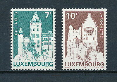 Luxembourg 718-19 MNH, Castles 1984