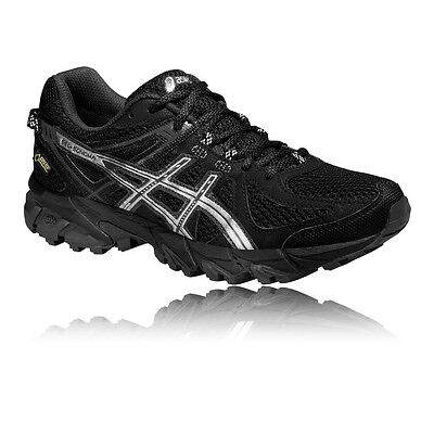 Asics Gel-Sonoma Womens Black GTX Trail Cushioned Running Sports Shoes Trainers