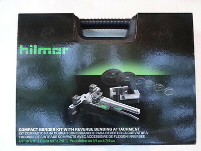 Hilmor Compact Tube Bender Kit W/ Reverse Bending Attachment - 1926598