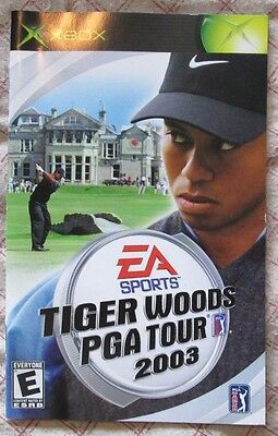 Xbox - Tiger Woods PGA Tour 2003 (Manual only)