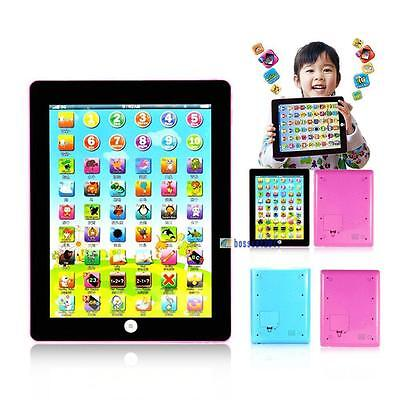 Tablet Pad Computer For Kids Children Gift Learning English Educational Toy BV