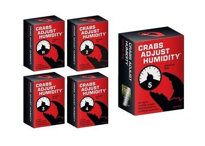 Cards Against Humanity expansion Crabs Adjust humidity 12345 expansion bundle AU