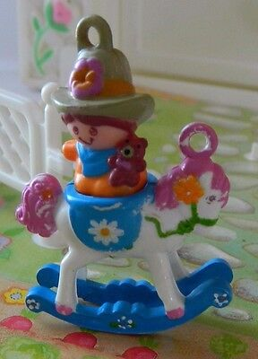 Vintage Hasbro Charmkins 80s Figure Toy Johnny Jump-Up and Lazy Daisy Charms