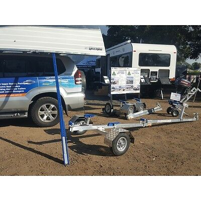 Boat Loader and Folding Trailer PACKAGE