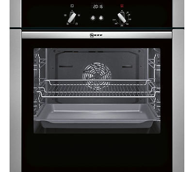 NEFF B44S32N5GB Slide&Hide Electric Oven Stainless Steel