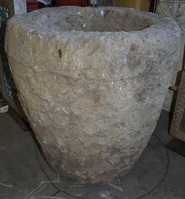 Mortar Stone C1800 60x55x55cm Antique Turkish