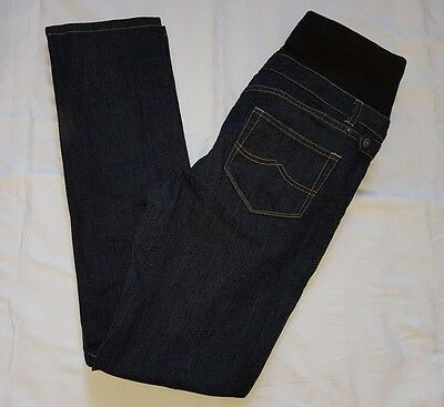 Jeanswest Maternity SLIM STRAIGHT LEG Blue Jeans Size 14