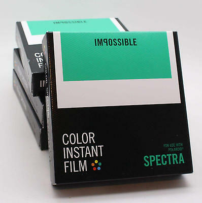 Impossible Project Colour Instant Film Polaroid Spectra / Image Latest Stock
