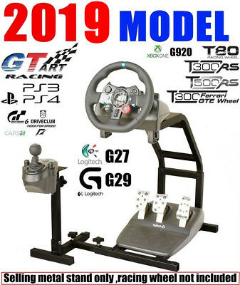 MINI GT ART Racing Simulator Steering Wheel Stand for G27 G29 PS4 G920 T300RS