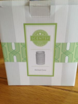 Scentsy Etched Core Warmer With Wax Melts - Free Postage