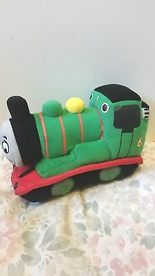 "Thomas The Tank Engine - Percy - 9"" Plush Soft Toy - Lovely Condition"