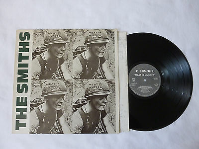 The Smiths ~ Meat Is Murder ~ Rough 81 ~ Ex/ex- ~ 1985 Uk Mpo 1St Press Vinyl Lp