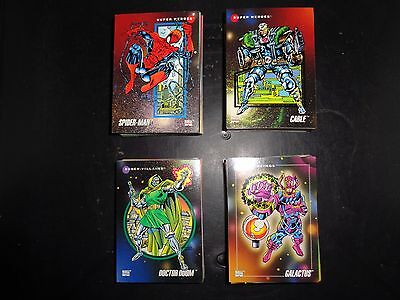 1992 MARVEL UNIVERSE SERIES III 3 IMPEL COMPLETE SET #1-200 X-Men Trading Cards