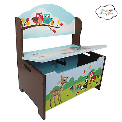 Enchanted Woodlands Storage Bench