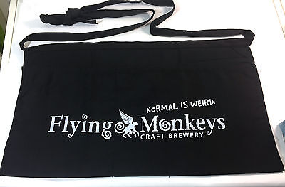 Flying Monkeys Beer Apron Craft Brewery Normal is Weird Barbecue