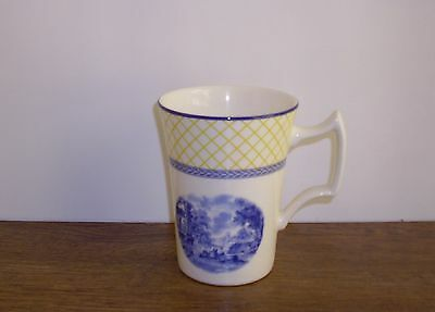 New Spode Blue Italian Giallo Mug.