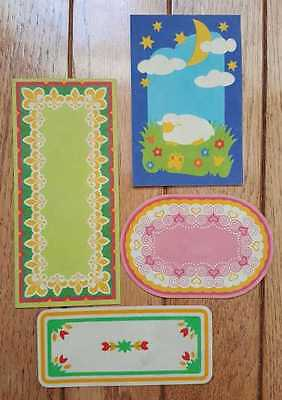 Playmobil Lot of 4 Rugs for Doll House or Victorian Mansion