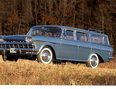 1960 Rambler Super Cross Country  ~  Great Calendar Photo / Picture / Ad