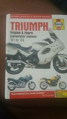 Haynes Triumph Triples And Fours 91-04 Manual