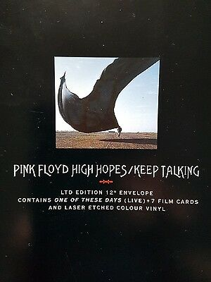 "Pink floyd High Hopes Original Rare Limited Edition Etched 12"" Still Sealed"