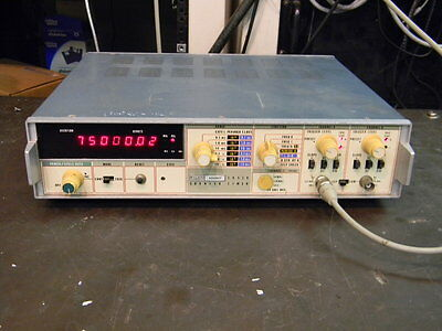 Fluke 1953A Frequency Counter W/Options 15 & 16 TESTED Please Read Description