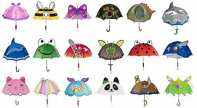 Kidorable Kids Children's Dome Shape Lightweight Umbrellas Various Funky Prints