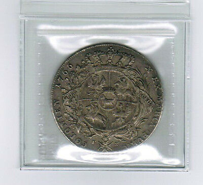 1766 - Poland - One Thaler Silver Coin