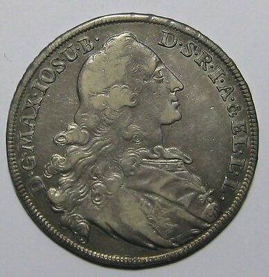 1770- Bavaria/Germany - One Thaler Silver Coin