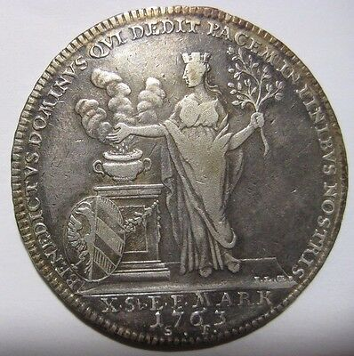 1763 - Germany/Nurnberg - 1 Thaler  Silver Coin