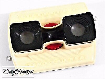 STEREOCLIC BRUGUIERE 1960 Stereoscopic Optical Stereo Viewer Vintage View-Master