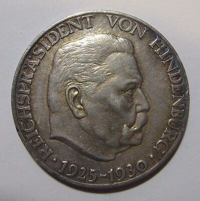 1930- Germany - 0.900 Silver Token or Medal