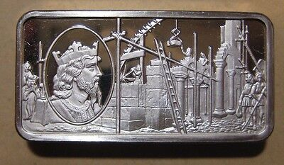 Franklin Mint - British Monarchy - Sterling Silver Bar - 65.9 Gram #1