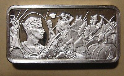 Franklin Mint - British Monarchy - Sterling Silver Bar - 65.9 Gram #11